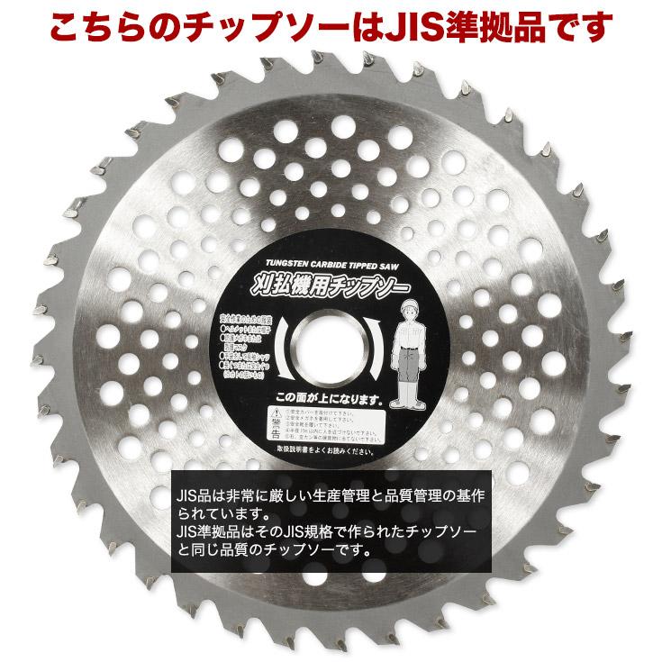 チップソー JIS 準拠品 230mm 36枚刃 ガーデニング機器 ガーデニング・農業 刈払機 草刈り機