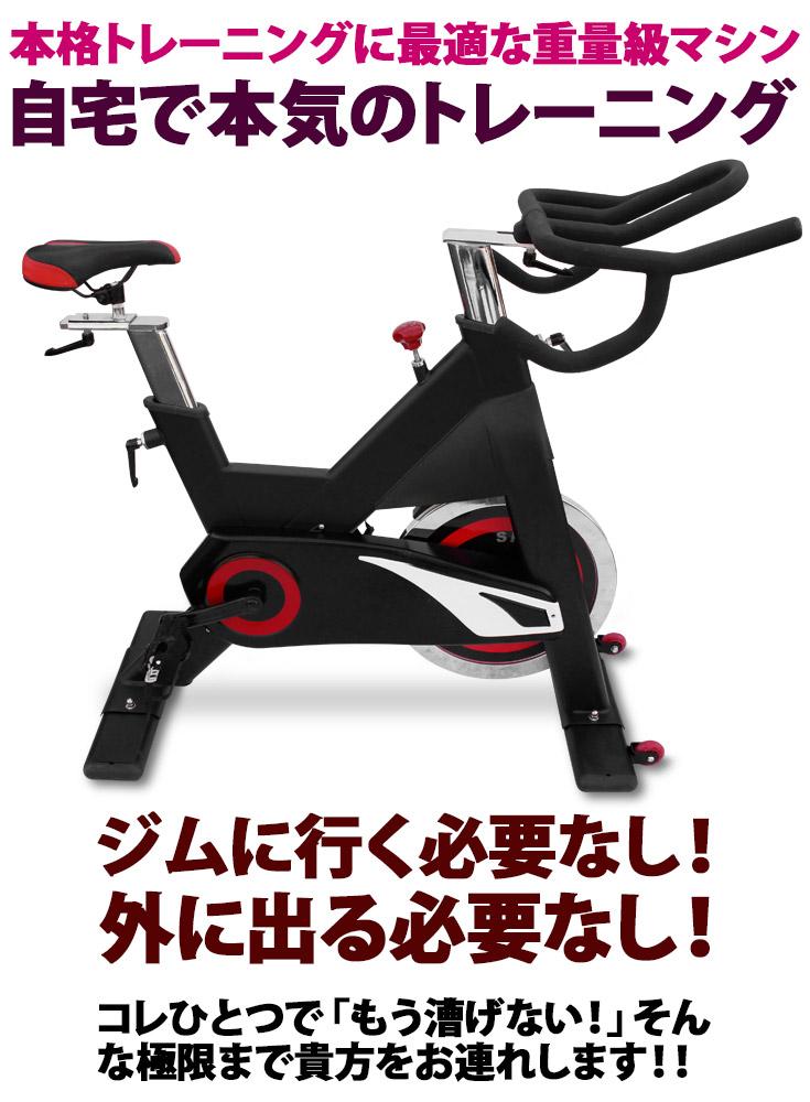 エクササイズ エアロバイク HG-AM-S790 スピンバイク フィットネス