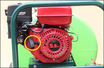 動力噴霧器/動噴 FT360のエンジン