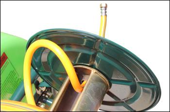 動力噴霧器/動噴 FT360のホースの繋ぎ方1