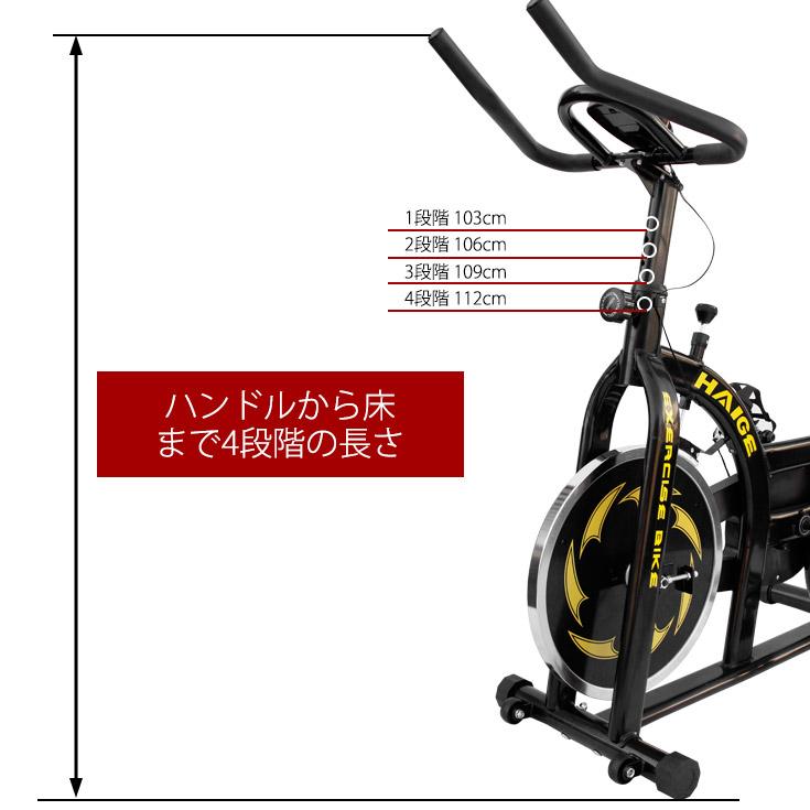 スピンバイク エアロバイク フィットネス エクササイズ 自転車 YX-5006